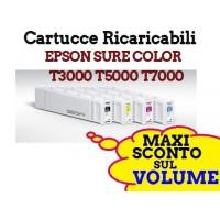 Cartucce Ricaricabili Epson SureColor T3000 T5000 T7000