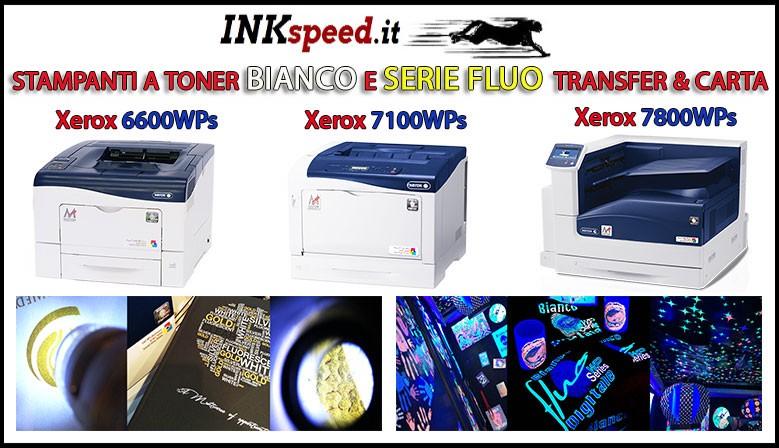 stampante toner bianco digitale e serie fluo