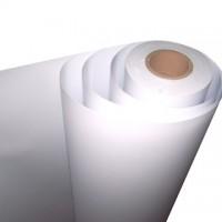 PVC adesivo bianco lucido da stampa base acqua pigmento