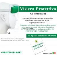 Visiera Protettiva in PVC