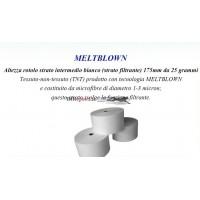 Tessuto Bianco Filtrante Meltblown per Mascherine Chirurgiche