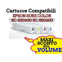 Cartucce Compatibili Epson SureColor SC-S50600 SC-S30600