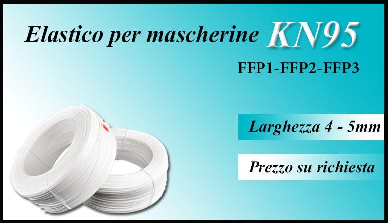 Elastico per mascherine KN95 FFP1 FFP2 FFP3